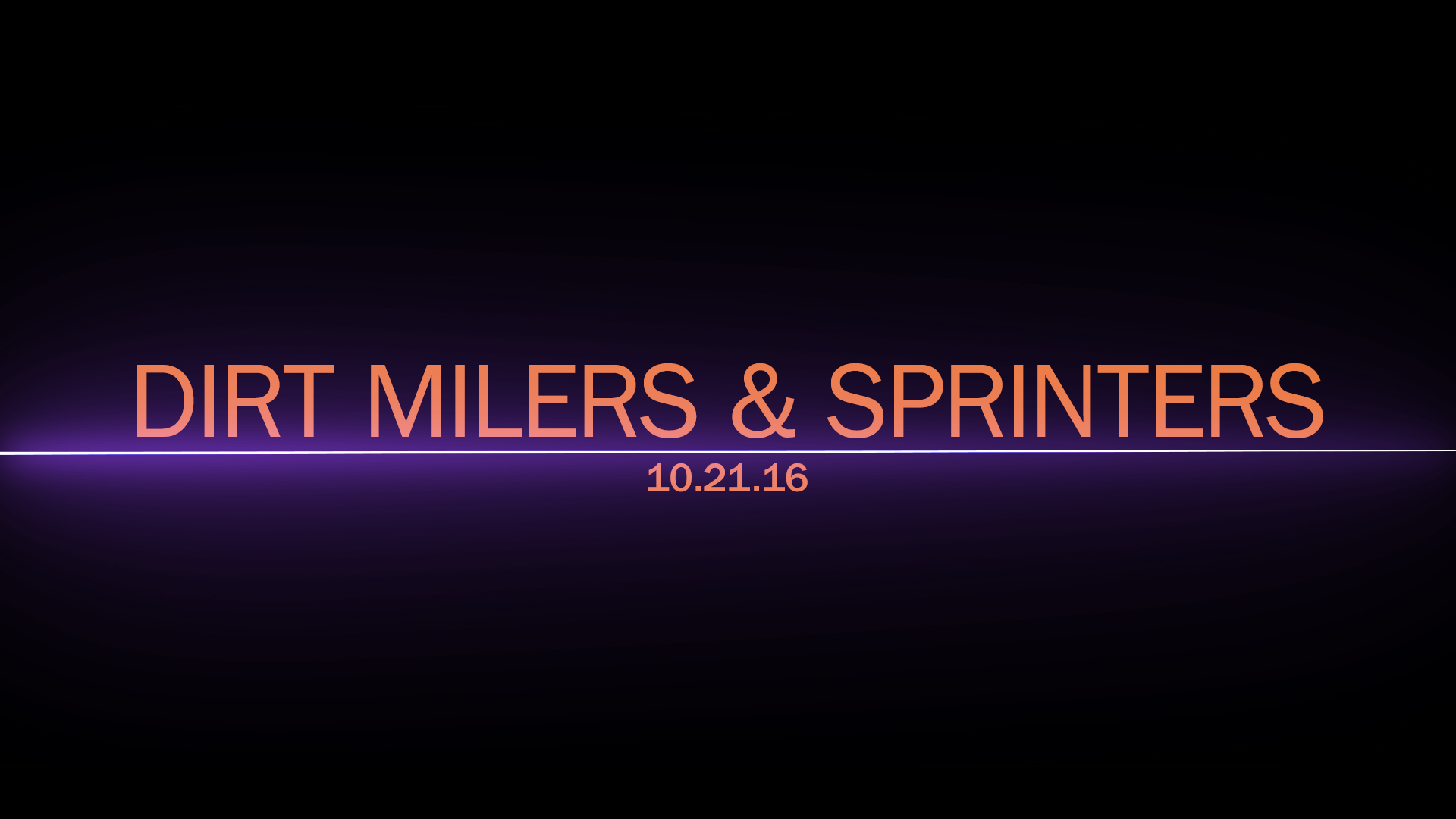 TCI: Breeders' Cup Sprint, F&M Sprint, & Dirt Mile Previews – 10/21/2016