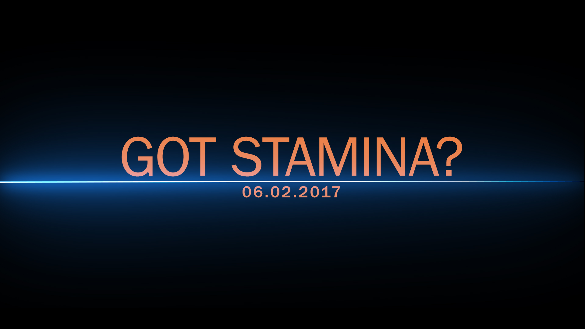 TCI: Belmont Stakes, Stamina Preview – 06/02/2017