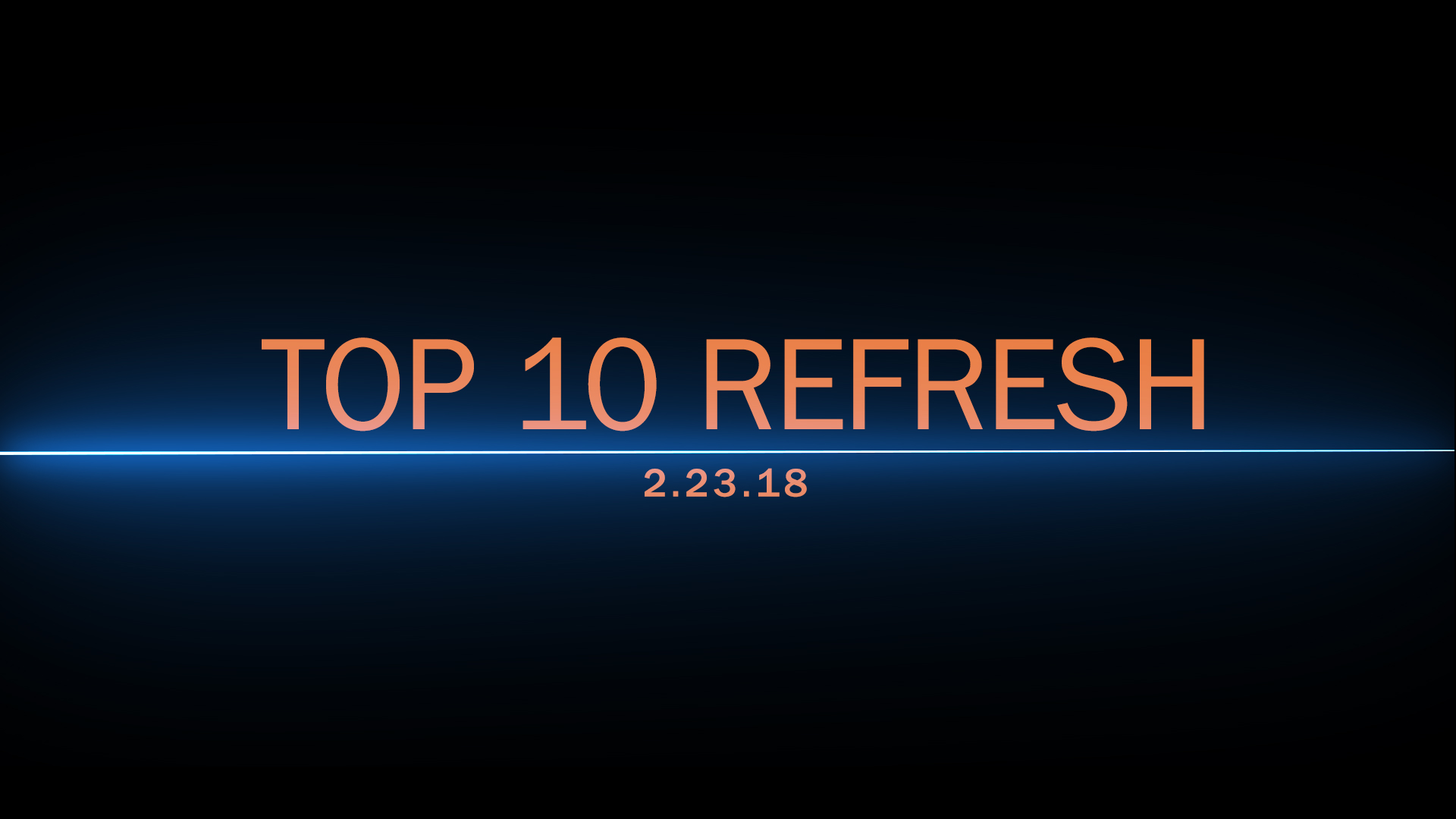 TCI: Southwest, Risen Star recap & Top 10 refresh – 02/23/2018